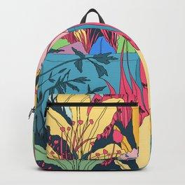 Late summer garden Backpack