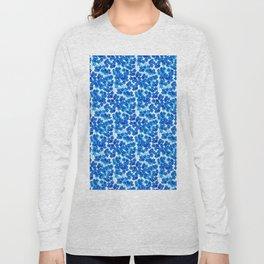Forget-me-not Flowers White Background #decor #society6 #buyart Long Sleeve T-shirt