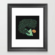 trigoNOMNOMNOMetry Framed Art Print