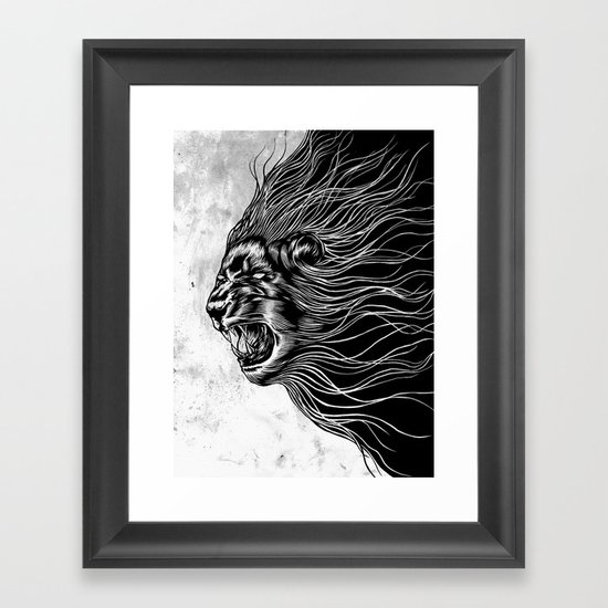 Furious2 Framed Art Print