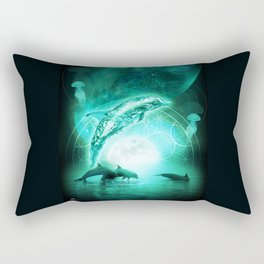 Universal Sonar Rectangular Pillow