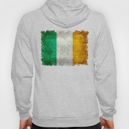 Flag of the Republic of Ireland, Vintage style Hoody