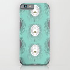 blue feathers iPhone 6s Slim Case