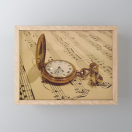 Timeless Music  Framed Mini Art Print