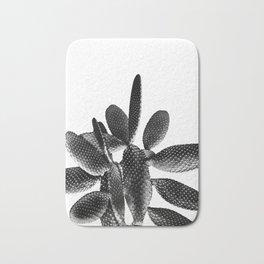 Black White Cactus #1 #plant #decor #art #society6 Bath Mat