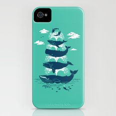 Whale of a Time iPhone (4, 4s) Slim Case