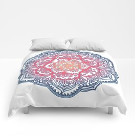 Radiant Medallion Doodle Comforters