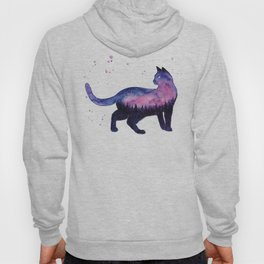 Galaxy Forest Cat Hoody