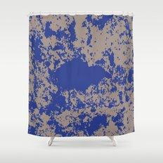 mauer fleck Shower Curtain