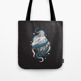 Scuba Diving Concept Tote Bag