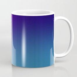 Fuchsia Blue Ombre Coffee Mug
