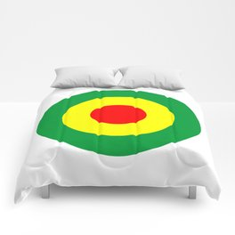 Rasta Reggae Dub Roundel Comforters