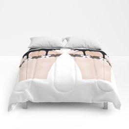 Lingeramas - Sexy Pink and Black Lingerie Legging Pajamas Comforters
