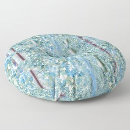 Canopy of Flowers for Two: Coordinates with Canopy Floor Pillow