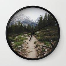 Teton Trail Wall Clock