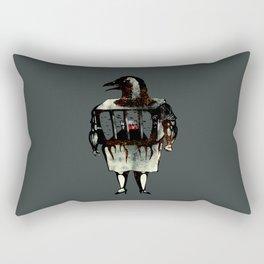 semiotics of inconspicuous consumption Rectangular Pillow