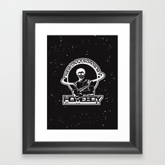 Neil Degrasse Tyson is my Homeboy Framed Art Print