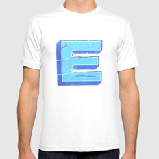 icE cold White Mens Fitted Tee MEDIUM