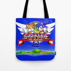 Sonic and Tails Tote Bag