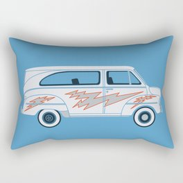 Grease Van Lightning Rectangular Pillow