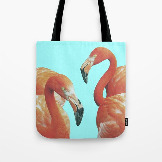 DOUBLE FLAM Tote Bag