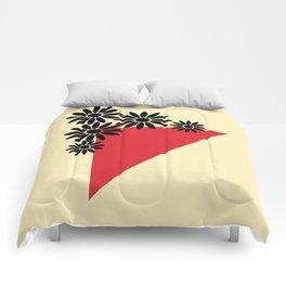 Abstract Vase Comforters