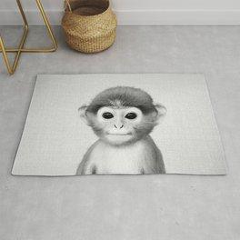 Baby Monkey - Black & White Rug