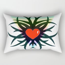 Tribal Heart Rectangular Pillow