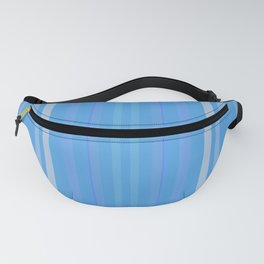Forget Me Not Blue Fanny Pack