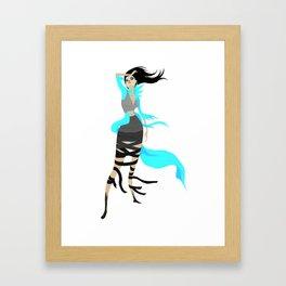 Miss Angorian Revealed Framed Art Print