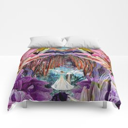Fairy and Unicorn, Fantasy Forest Comforters