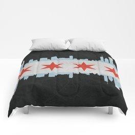 Chicago Pride Comforters