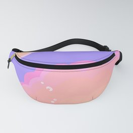 Sunset cloud Fanny Pack
