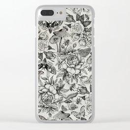Botanical Pattern II Clear iPhone Case