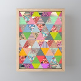 Lost in ▲ Framed Mini Art Print