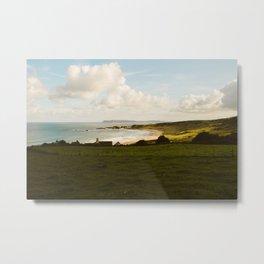 Antrim Coast, Northern Ireland Metal Print