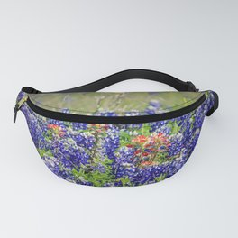 Butterfly and Bluebonnets Fanny Pack