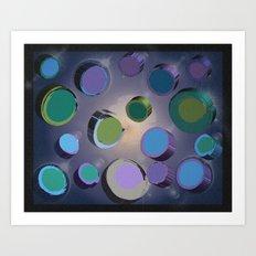 Floating Space Art Print