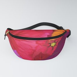 Surfinie and anemones Fanny Pack
