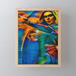 Scarlet Witch Framed Mini Art Print