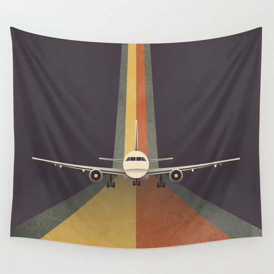 Take Off Wall Tapestry