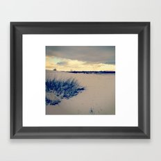 Wisconsin Winter Framed Art Print