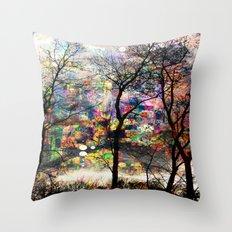 Crazy Nature Throw Pillow