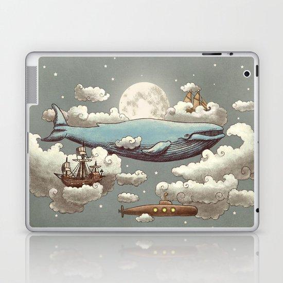 Ocean Meets Sky (original) Laptop & iPad Skin