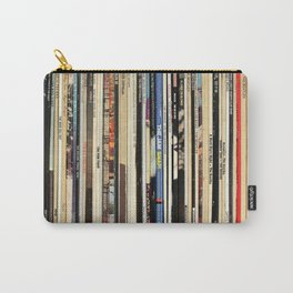 Classic Rock Vinyl Records Carry-All Pouch