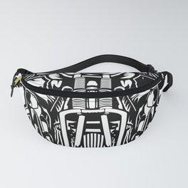Gasmask Chopper Fanny Pack