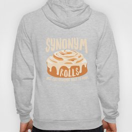 Funny Synonym Rolls Grammar English Apparel Hoody