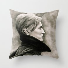 DAVID BOWIE - LOW Throw Pillow
