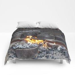 Camp oven Comforters