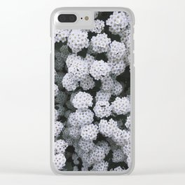 Little White Flowers [Part 2] Clear iPhone Case